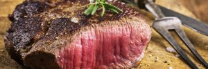 venison meat from hunt