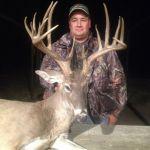 Large Deer Trophy in Texas